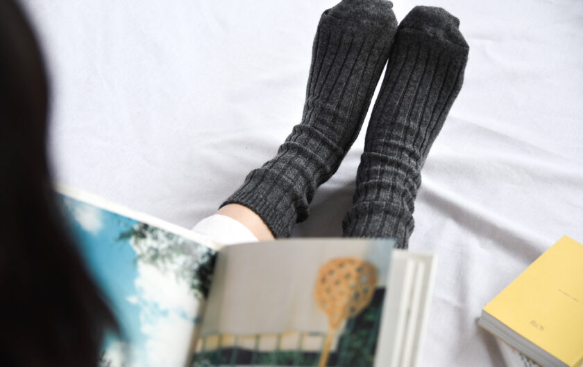 Indulge in real cashmere socks
